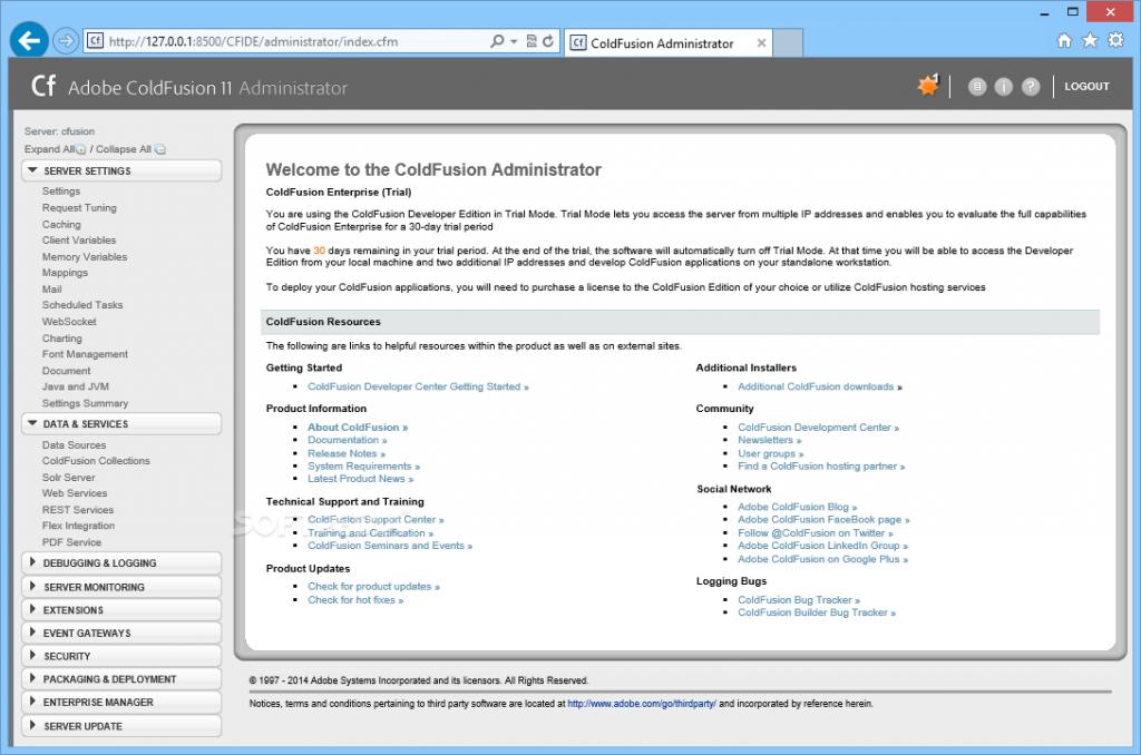 Купить лицензию Adobe ColdFusion  Лучшая цена на ColdFusion